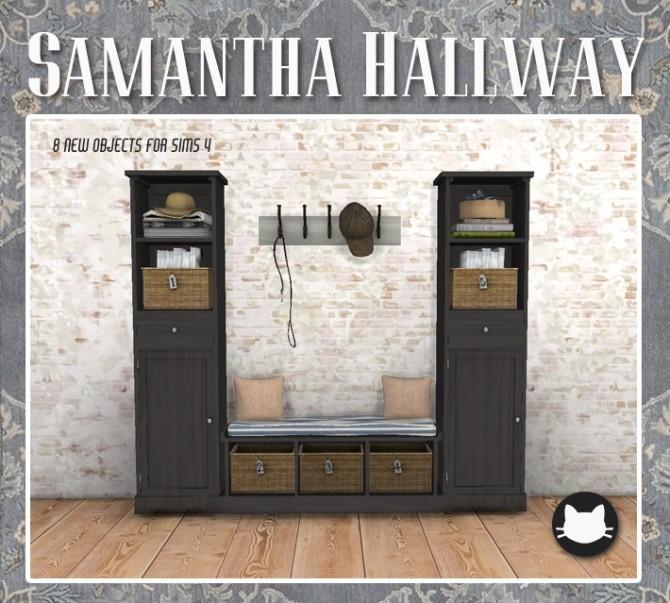 Samantha Hallway at Kitkat's Simporium image 1475 670x603 Sims 4 Updates