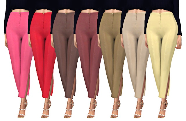 SCLASSY HERA PANTS at FROST SIMS 4 image 1478 Sims 4 Updates