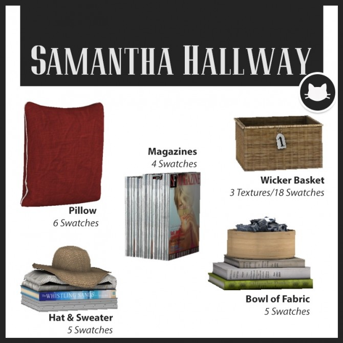 Samantha Hallway at Kitkat's Simporium image 1485 670x670 Sims 4 Updates