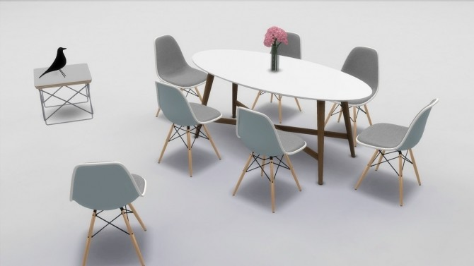 PLASTIC SIDE CHAIR COLLECTION (DSW AND DSR) at Meinkatz Creations image 1492 670x377 Sims 4 Updates