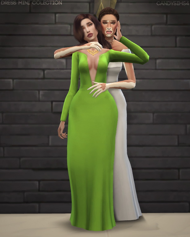 Sims 4 DRESS MINI COLLECTION at Candy Sims 4