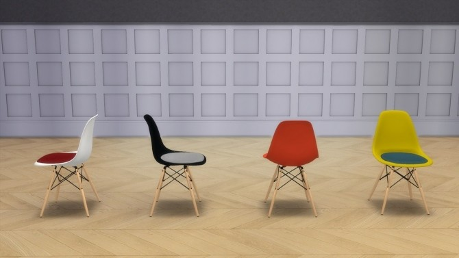 PLASTIC SIDE CHAIR COLLECTION (DSW AND DSR) at Meinkatz Creations image 1502 670x377 Sims 4 Updates