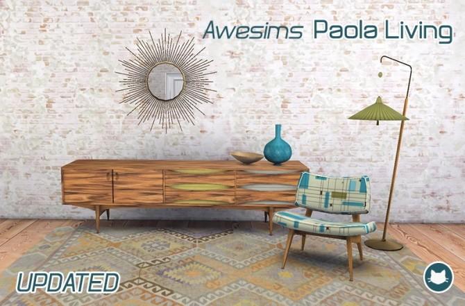 Awesims Paola Living at Kitkat's Simporium image 1505 670x441 Sims 4 Updates