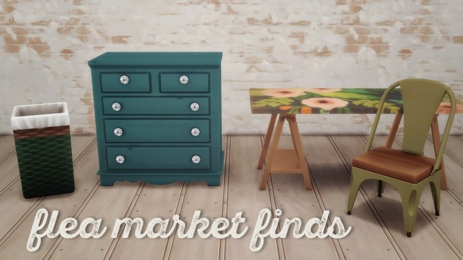 Flea Market Finds at Hamburger Cakes image 15113 670x377 Sims 4 Updates