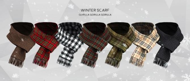 Winter Scarf at Gorilla image 15114 670x287 Sims 4 Updates
