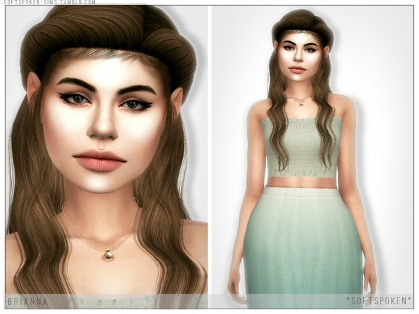 Sims 4 Brianna by Softspoken at TSR