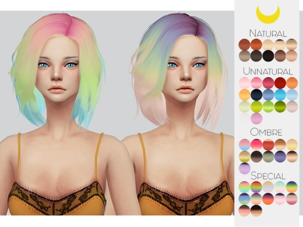 Hair Retexture 82 Stealthics Vapor by Kalewa a at TSR image 1526 Sims 4 Updates