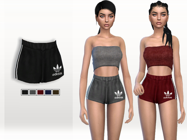 Sporty Shorts by Puresim at TSR image 1540 Sims 4 Updates