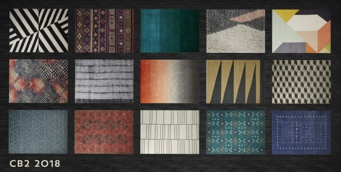 Weve Got You Covered Rugs at b5Studio image 1544 670x338 Sims 4 Updates