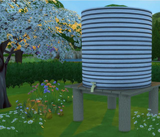 Rain Water Tank at Simlish Designs image 1563 Sims 4 Updates