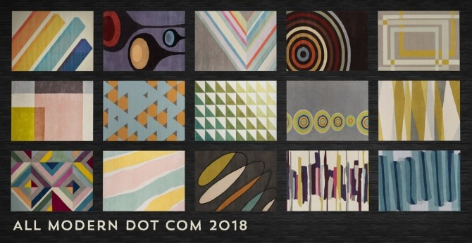 Weve Got You Covered Rugs at b5Studio image 1564 670x346 Sims 4 Updates