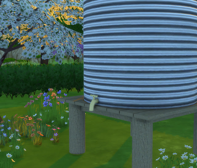 Rain Water Tank at Simlish Designs image 1573 Sims 4 Updates