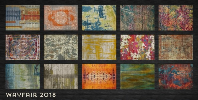 Weve Got You Covered Rugs at b5Studio image 1584 670x338 Sims 4 Updates