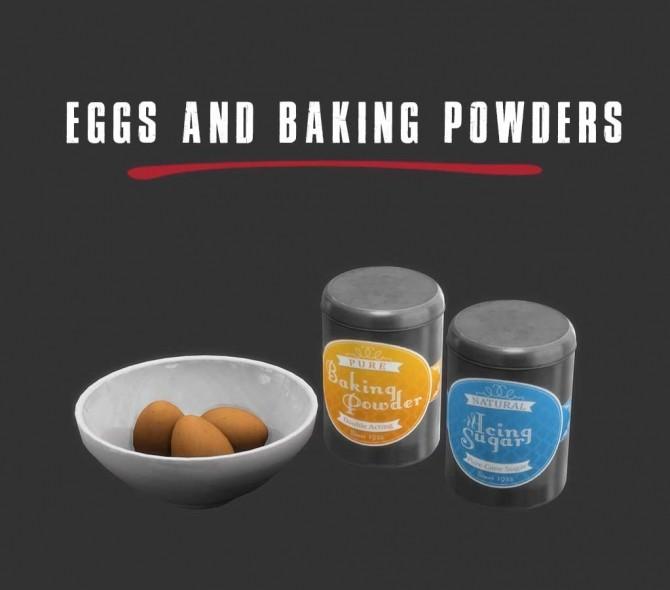 Sims 4 Eggs and Baking Powder at Leo Sims