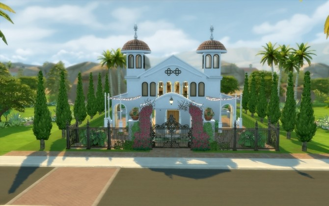 Oasis Church at Via Sims image 1594 670x419 Sims 4 Updates
