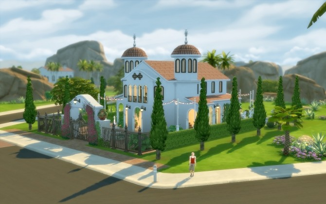 Oasis Church at Via Sims image 1604 670x419 Sims 4 Updates