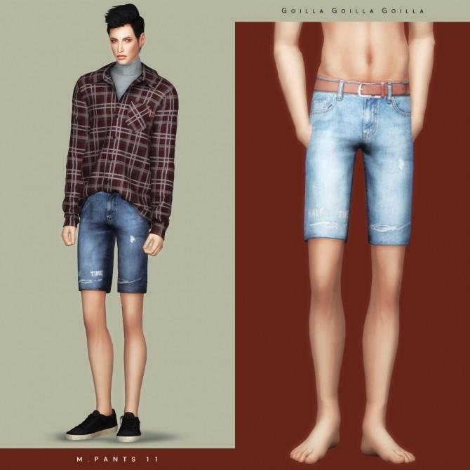 Sims 4 M. Pants 11 at Gorilla