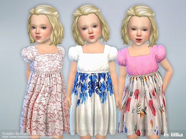 Sims 4 Toddler Dresses Collection P63 by lillka at TSR
