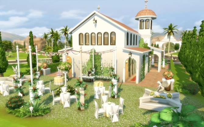Oasis Church at Via Sims image 1625 670x419 Sims 4 Updates