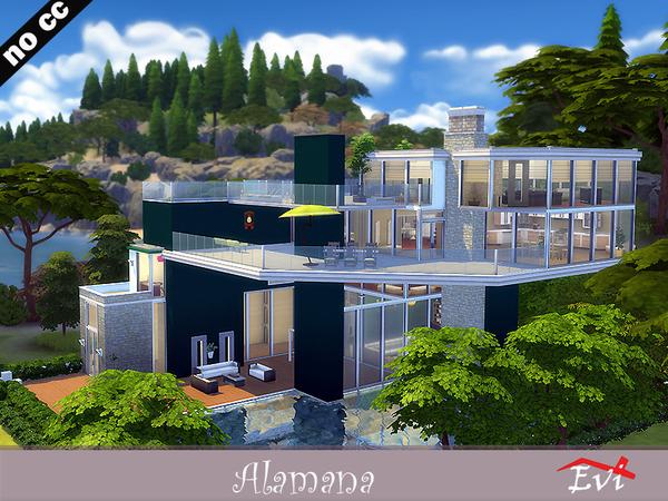 Sims 4 Alamana villa by evi at TSR