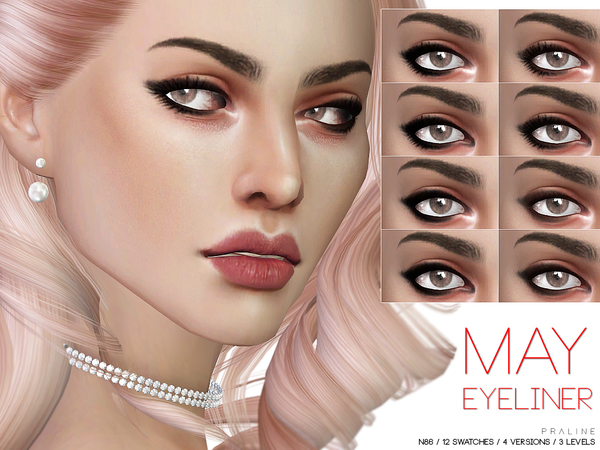 May Eyeliner N86 by Pralinesims at TSR image 1631 Sims 4 Updates