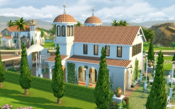 Oasis Church at Via Sims image 1634 670x419 Sims 4 Updates