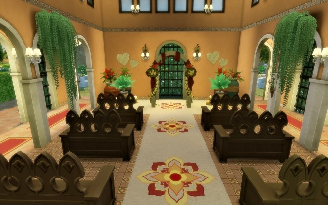Oasis Church at Via Sims image 1644 670x419 Sims 4 Updates