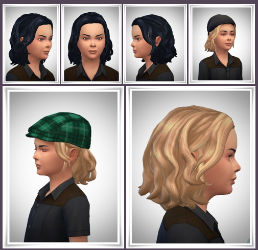 Sims 4 Little Nils Hair at Birksches Sims Blog