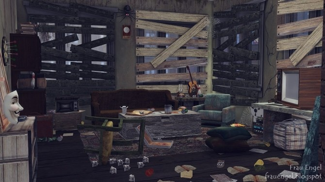 Abandoned apartment at Frau Engel image 167 670x377 Sims 4 Updates