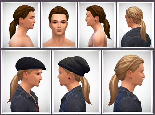 FuSion Ponytail at Birksches Sims Blog image 1673 Sims 4 Updates