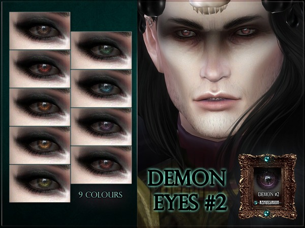 Demon Eyes #2 by RemusSirion at TSR image 1681 Sims 4 Updates