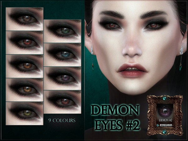 Demon Eyes #2 by RemusSirion at TSR image 1691 Sims 4 Updates