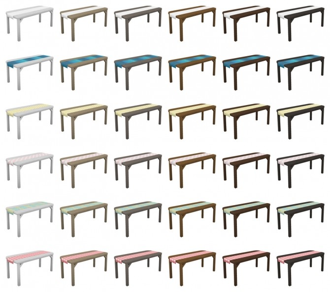 Backyard Patio Set at SimPlistic image 1695 670x592 Sims 4 Updates