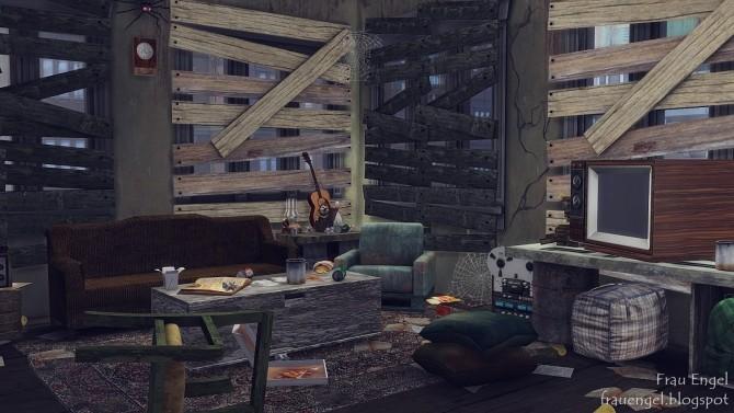 Abandoned apartment at Frau Engel image 170 670x377 Sims 4 Updates