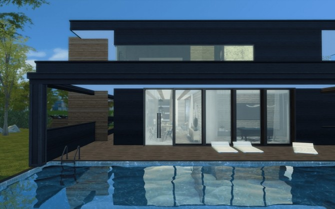 Sims 4 Villa Saphir at Rabiere Immo Sims