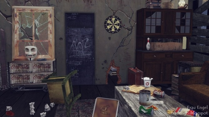Abandoned apartment at Frau Engel image 171 670x377 Sims 4 Updates