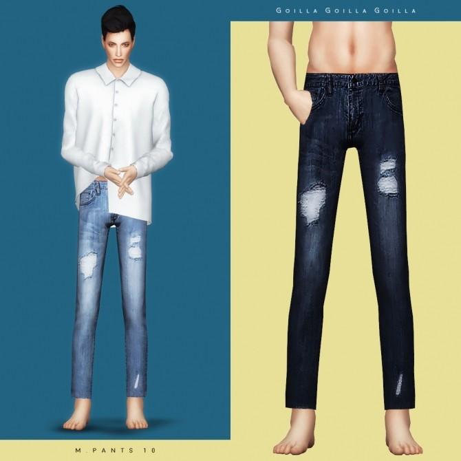 Sims 4 M. Pants 10 at Gorilla