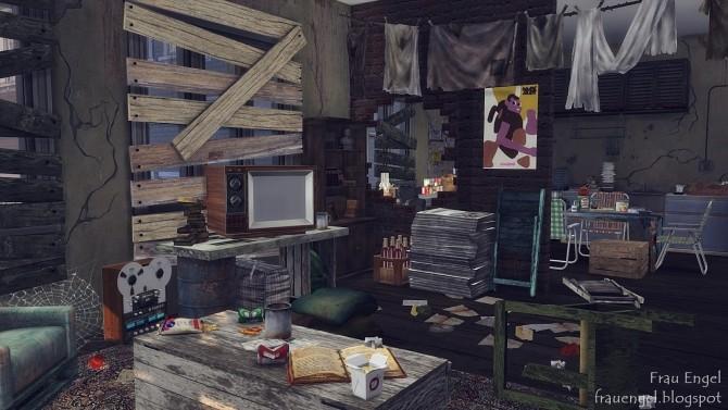 Abandoned apartment at Frau Engel image 172 670x377 Sims 4 Updates