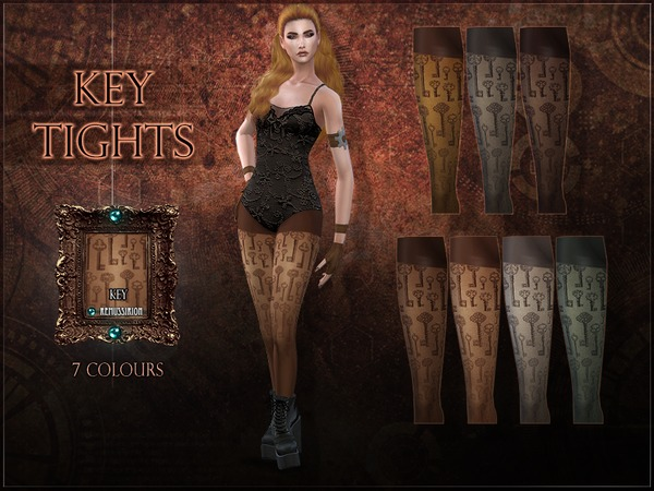 Key Tights by RemusSirion at TSR image 1720 Sims 4 Updates