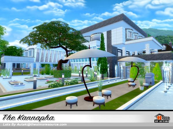 Sims 4 The Kannapha house by autaki at TSR