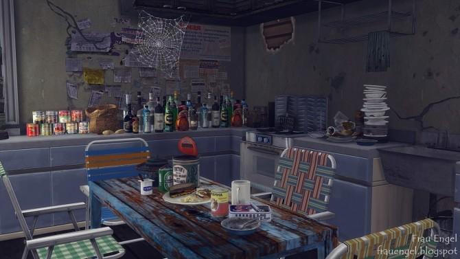 Abandoned apartment at Frau Engel image 174 670x377 Sims 4 Updates