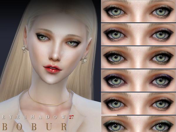 Eyeshadow 27 by Bobur3 at TSR image 1740 Sims 4 Updates