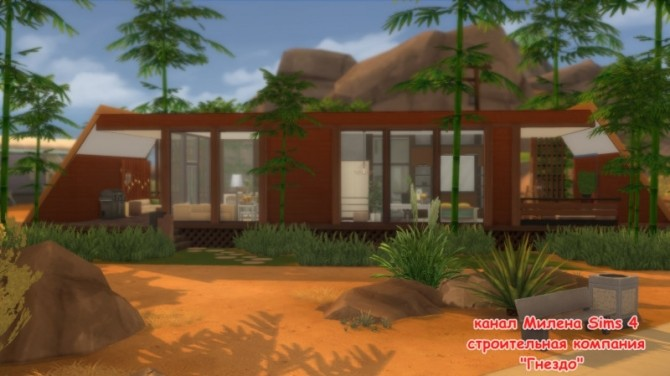 Sims 4 Oasis 1 house at Sims by Mulena