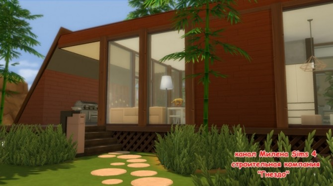 Oasis 1 house at Sims by Mulena image 1753 670x376 Sims 4 Updates