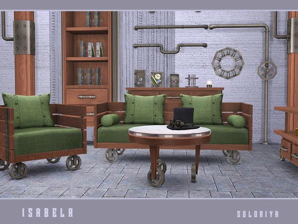 Isabela steampunk set by soloriya at TSR image 1781 Sims 4 Updates