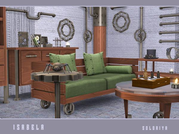 Isabela steampunk set by soloriya at TSR image 1791 Sims 4 Updates