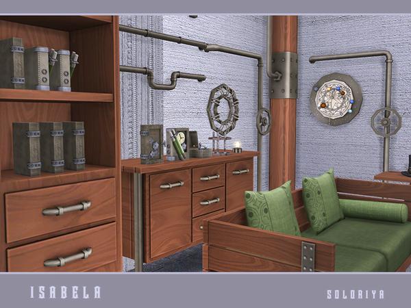 Isabela steampunk set by soloriya at TSR image 1801 Sims 4 Updates