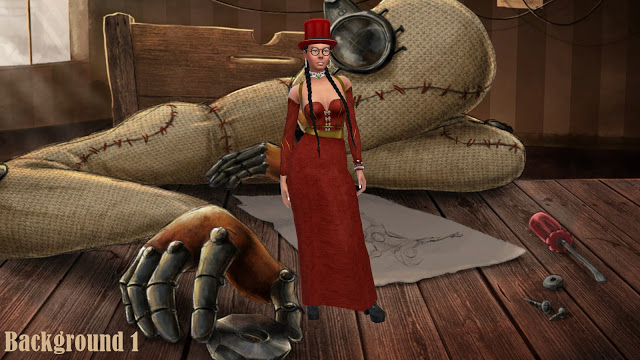 Steampunk CAS Backgrounds at Annett's Sims 4 Welt image 1802 Sims 4 Updates