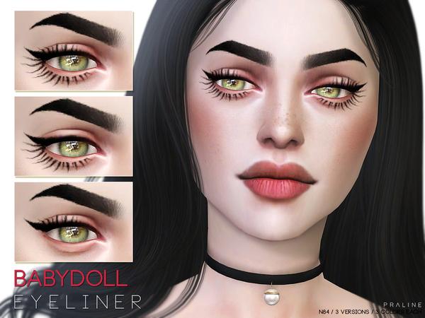 Babydoll Eyeliner N84 by Pralinesims at TSR image 1810 Sims 4 Updates