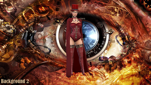 Steampunk CAS Backgrounds at Annett's Sims 4 Welt image 18110 Sims 4 Updates